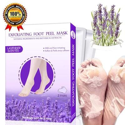 Maksuzee Foot Peel Masks (2-Pack)