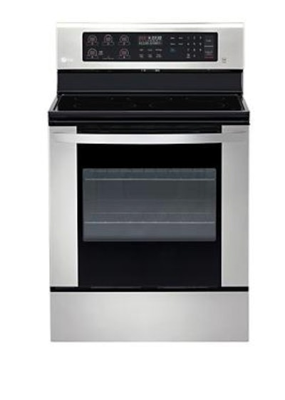 LG 6.3 Cu Ft Electric Single Oven Range with EasyClean
