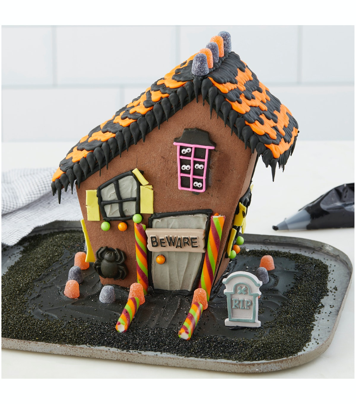 JOANN Stores' Wilton Icing Halloween Gingerbread House
