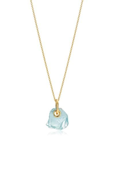 Aquamarine Pendant Necklace