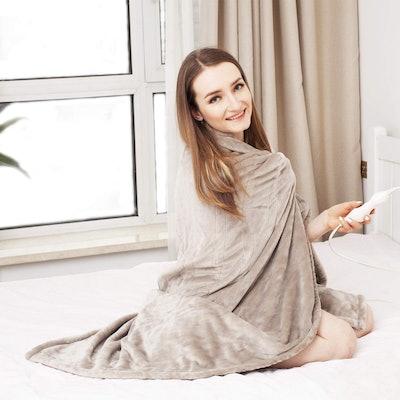 Tefici Heated Throw Blanket