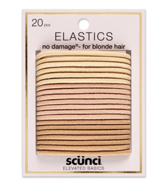 scünci No Damage Elastics in Blonde