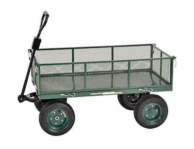 Sandusky Heavy Duty Steel Jumbo Crate Wagon