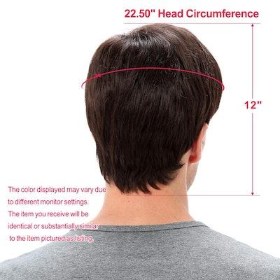 STfantasy Mens Brown Wig