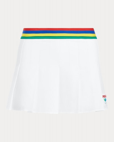US Open Pleated Stretch Skort