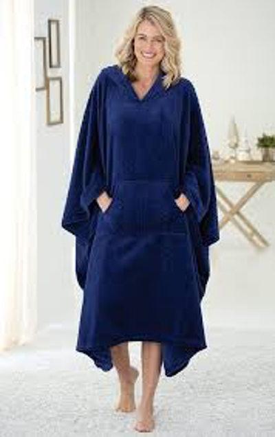 PajamaGram Throw Robe