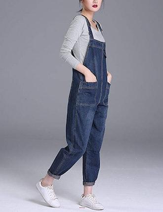 Soojun Baggy Denim Bib Overall