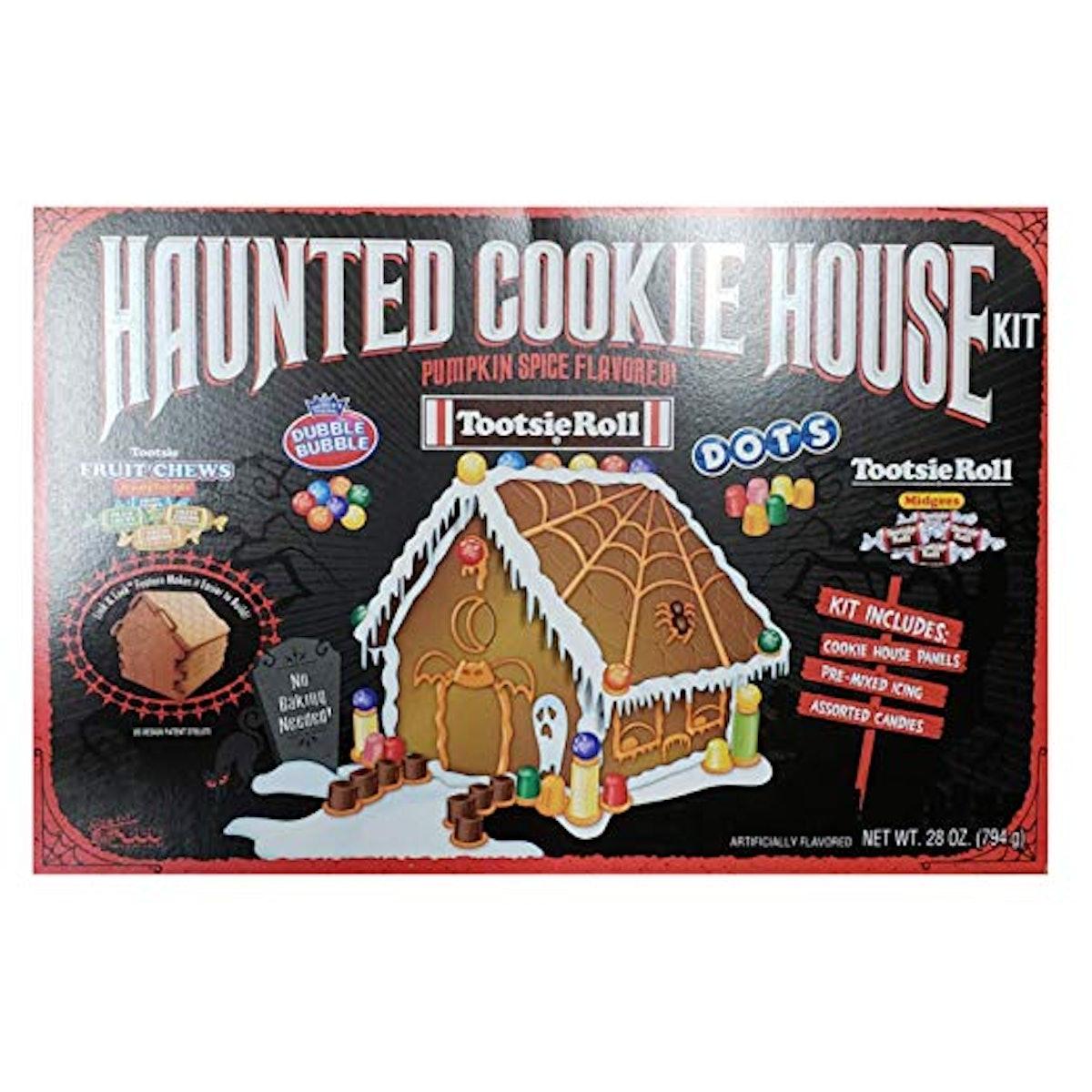 Halloween Haunted Cookie House Kit