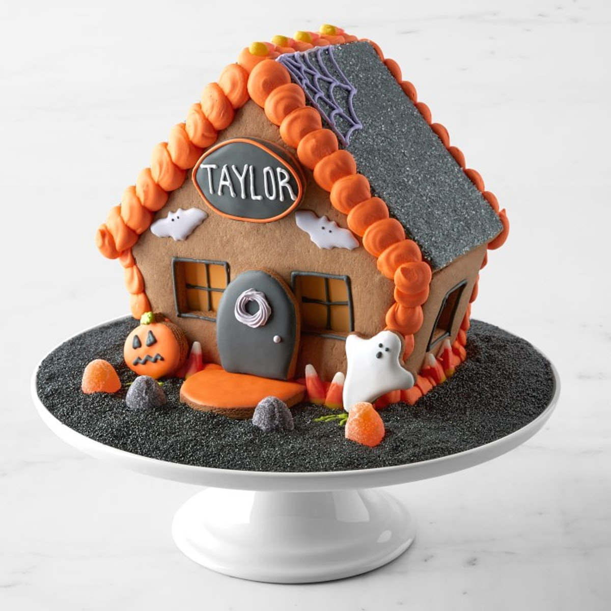 Halloween Gingerbread House, Personalized