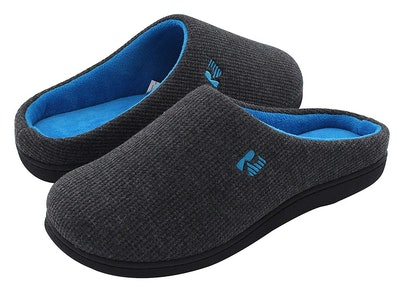 RockDove Men's Memory Foam Slippers (Sizes 5-14)