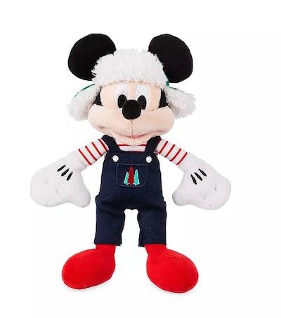 Mickey Mouse Holiday Plush – Mini Bean Bag – 9''
