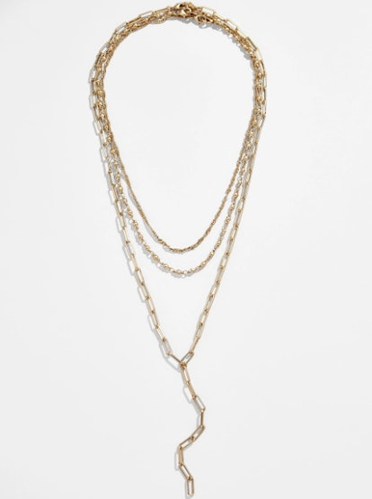 Diviana Layered Y-Chain Necklace Set