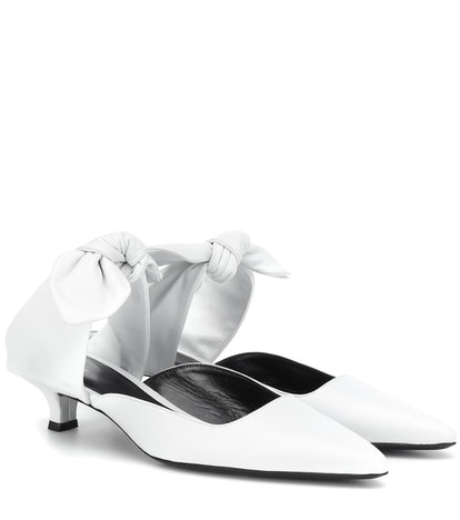The Row Leather Coco Mules