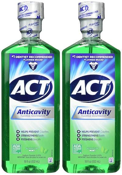 ACT Anticavity Fluoride Rinse (2-Pack)