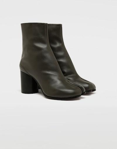 Calfskin Tabi Boots