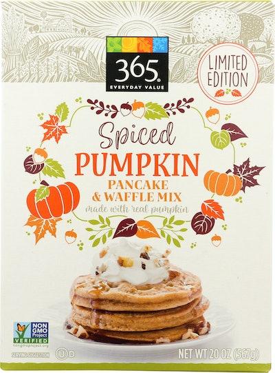 Spiced Pumpkin Pancake & Waffle Mix