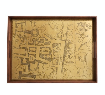 Harry Potter Marauders Map Serving Tray