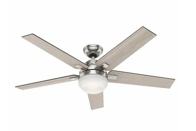 "Hunter Apex 54"" LED Reversible Blade Ceiling Fan"