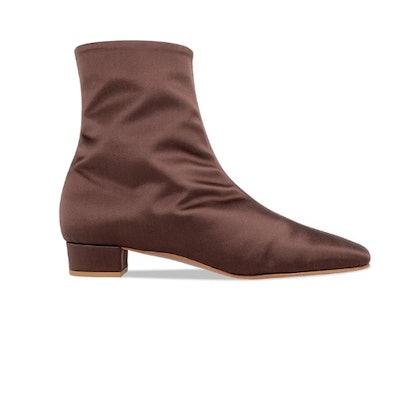Este Boot Brown Satin