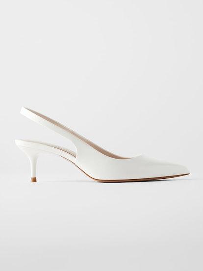 Slingback Kitten Heel Shoes