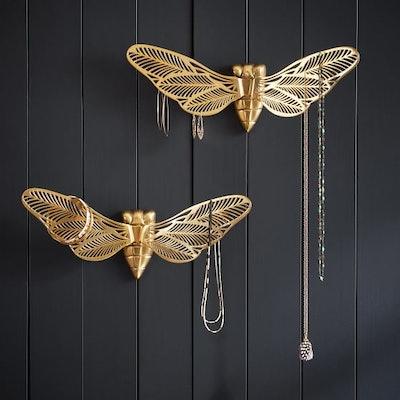 Moth Wall Jewelry Holders