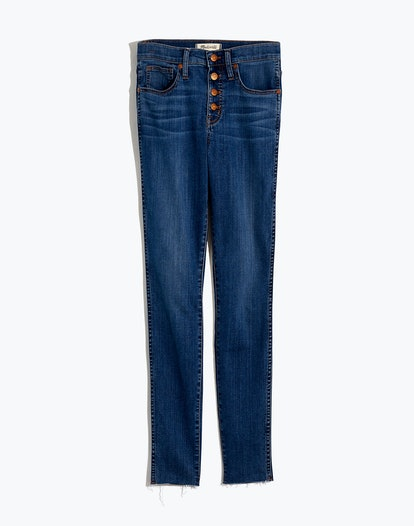 High-Rise Skinny Jeans in Brinville Wash