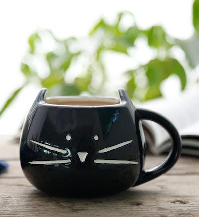 Coffee, Tea Or Kitty Mug