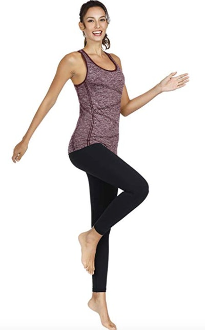DISBEST Workout Top With Removable Pads