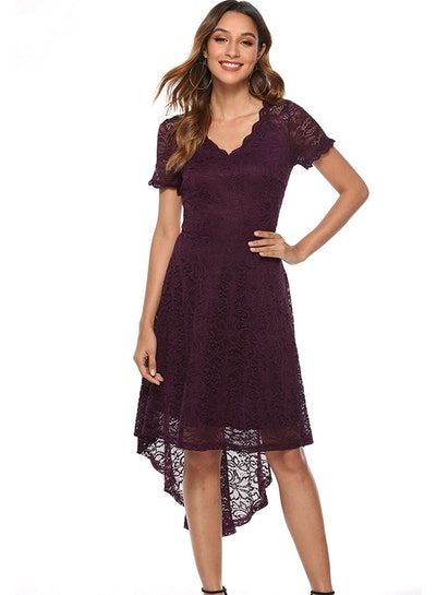 MODECRUSH Women's Hi-Low Party Dress