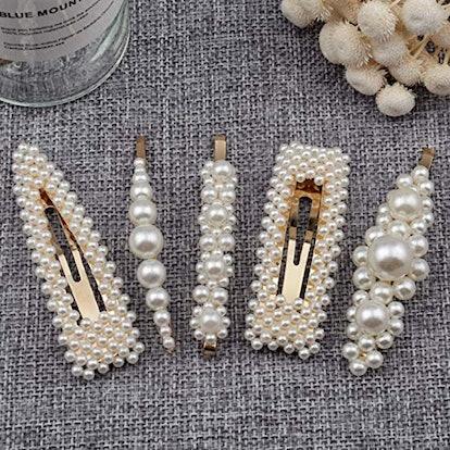 Warmfits Pearl Hair Clips (5 Pack)