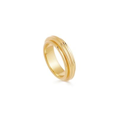Lucy Williams Gold Ridge Ring