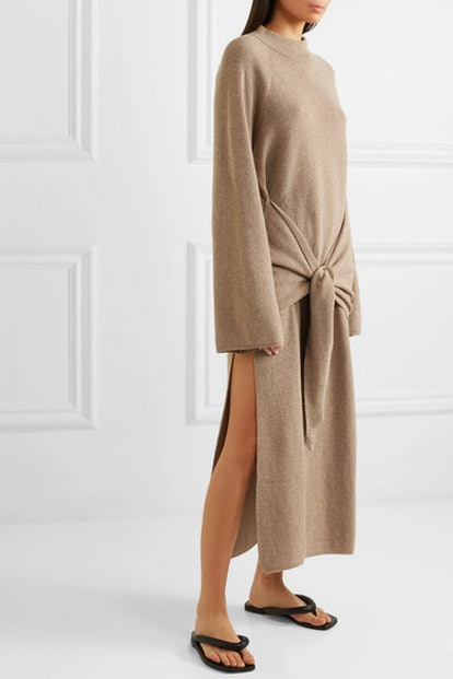 Mahali Ribbed-Knit Maxi Dress