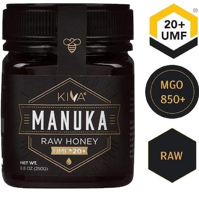 Kiva Raw Manuka Honey, 8.8 ounces
