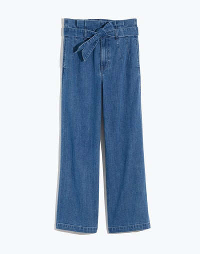 Paperbag Jeans in Flannigan Wash