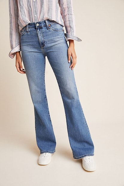 AG The Quinne High-Rise Flare Jeans