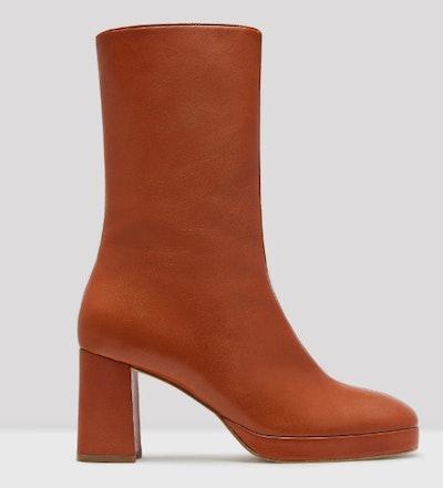 Carlota Brick Boots
