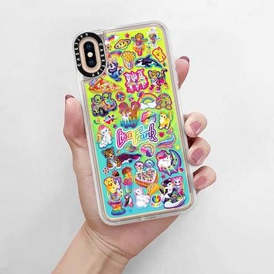 Lisa Frank's Stickerfest iPhone Case