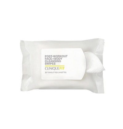 CliniqueFIT Post-Workout Face + Body Cleansing Swipes