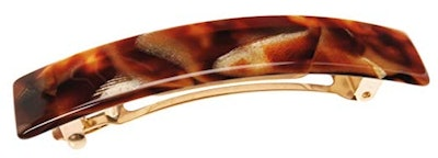 France Luxe Classic Rectangle Hair Barrette