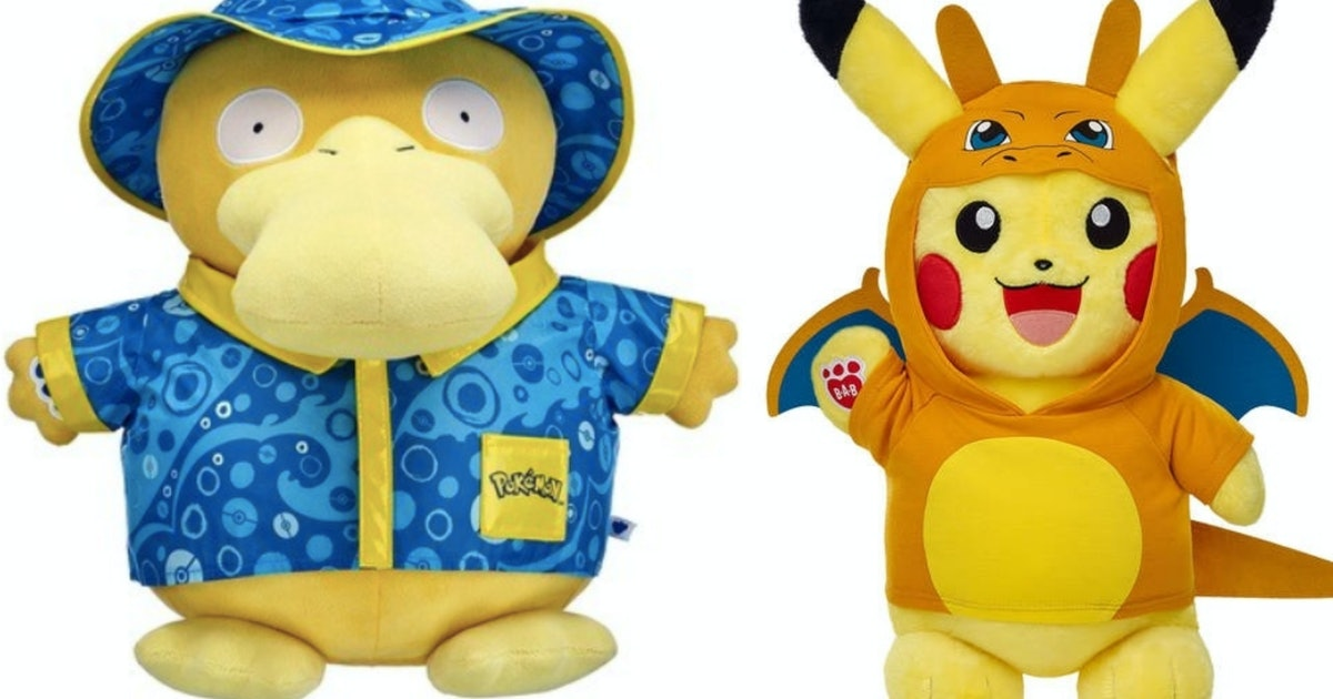 Build-A-Bear's Pokemon Line Includes All Of Your Iconic Poke-Faves