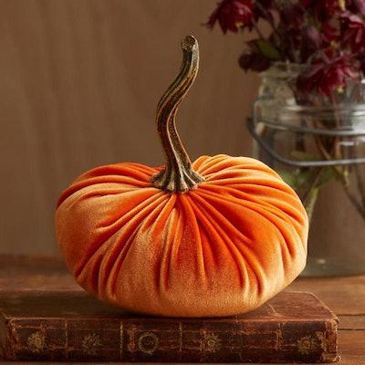 Orange Velvet Pumkin