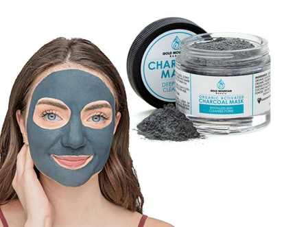 Gold Mountain Beauty Activated Charcoal Mask
