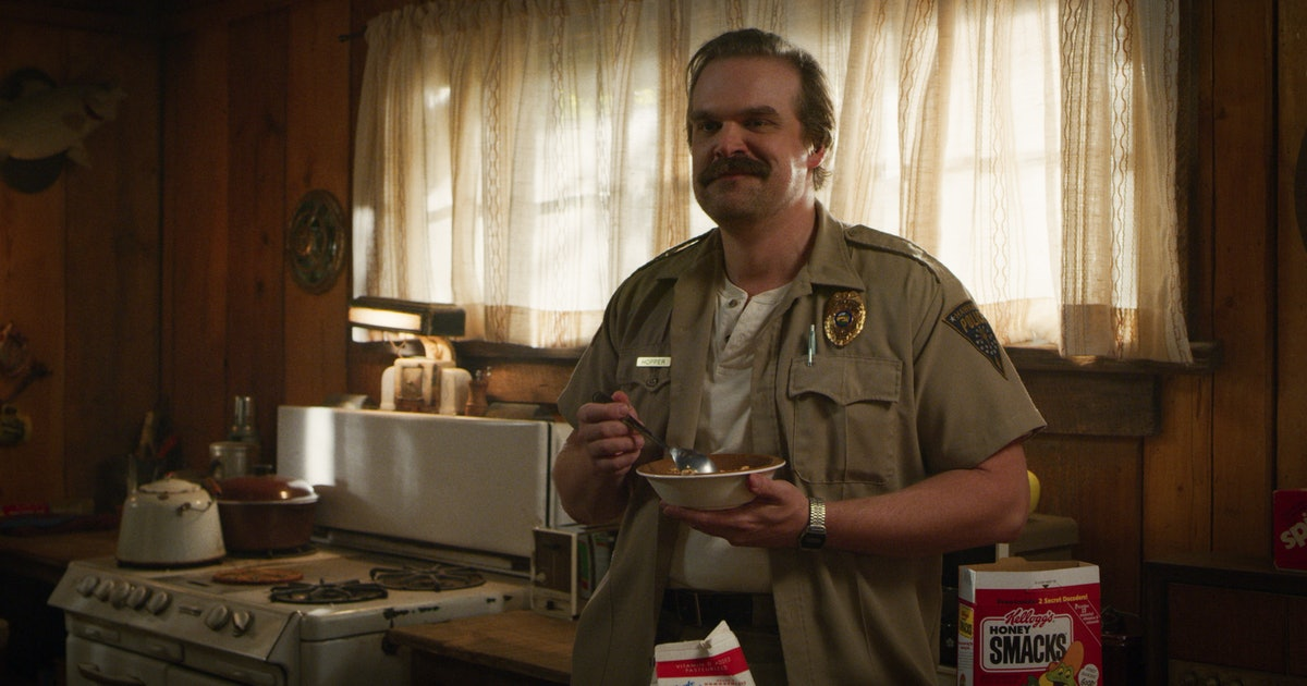 'Stranger Things' Hopper Was Almost Played By A Different Star For This Seriously Wild Reason