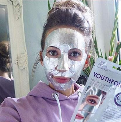 Skin Republic Korean Foil Hyaluronic Mask (2-Pack)