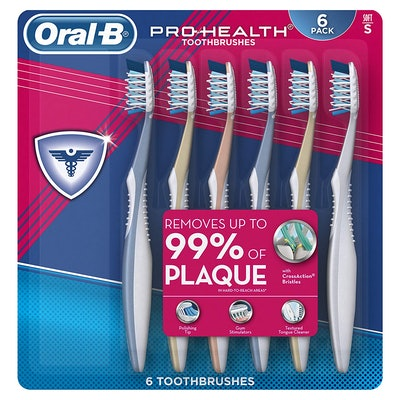 Oral-B Pro Health All-In-One Soft Toothbrush (6-Pack)