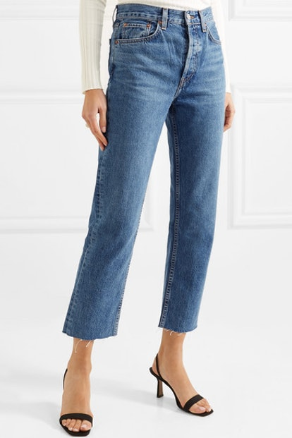 Stovepipe Jeans