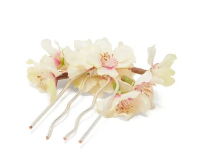 Blossom Faux-Flower Hairpin