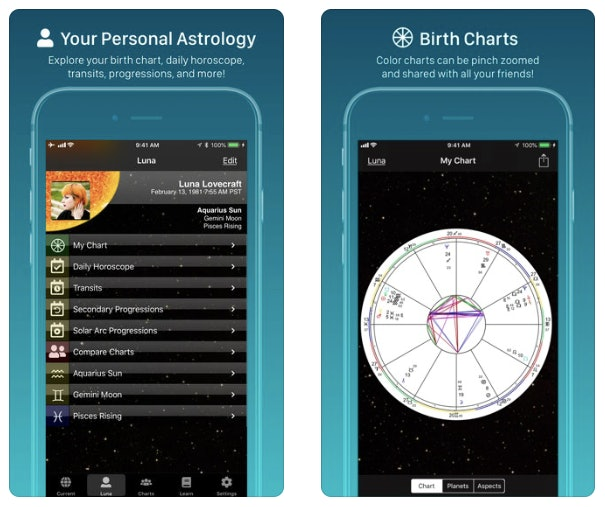 3 Astrology Apps That Will Help You Learn More About Your Birth