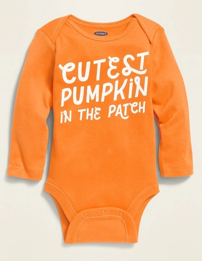 """""""Cutest Pumpkin In The Patch"""" Bodysuit for Baby"""