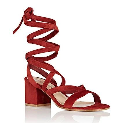Janis Low Sandals in Granata